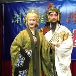 任現軍飾演的陳元光及何雪林飾演的魏敬夫人。